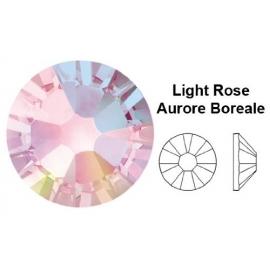 105 - Strass SWAROVSKI SS9 Light Rose Aurore Boreale