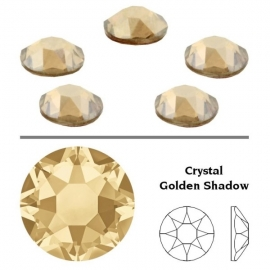 122 - Strass SWAROVSKI SS12 Crystal Golden Shadow