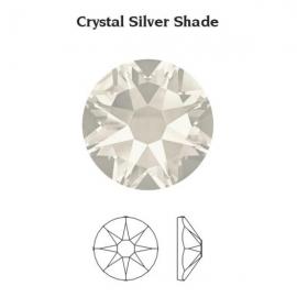124 - Strass SWAROVSKI SS12 Crystal Silver Shade
