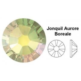 137 - Strass SWAROVSKI SS12 Jonquil Aurore Boreale