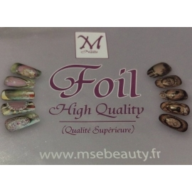 Kit foils M'Nails 4 x 50 cm