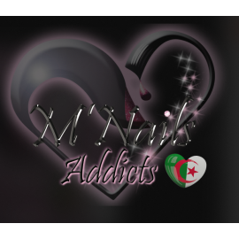 Logo M'Nails Algerie