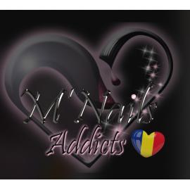 Logo M'Nails Roumanie