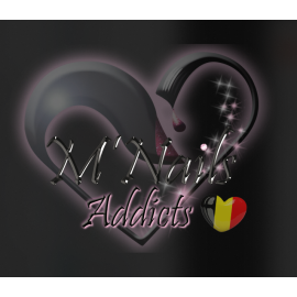 Logo M'Nails Belgique