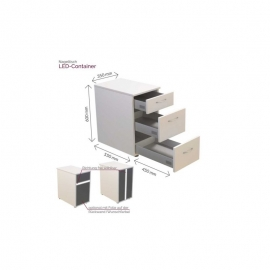 Container 3 tiroirs