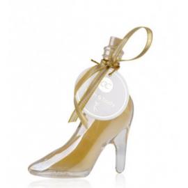 Bain moussant Chaussure Or Metallique